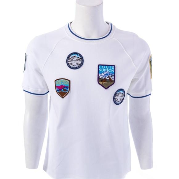 5c9fbd107 Louis Vuitton Shirts   Mens National Parks Patches Tee   Poshmark